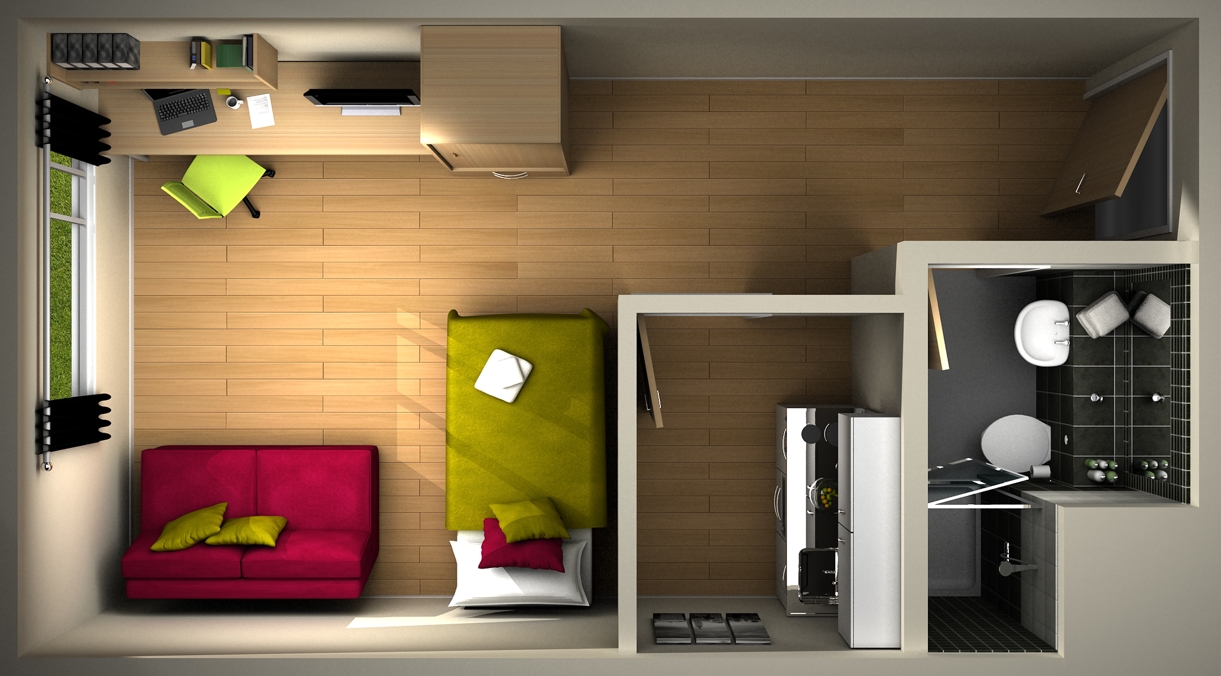 Roompod solution for stylish student accommodation