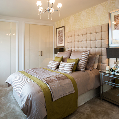 Shropshire House Builders Bedroom